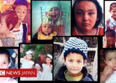 親から引き離され、中華教育を受けるウイグルの子供たち